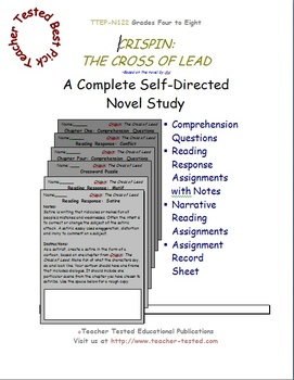 Crispin: The Cross of Lead - A Complete Novel Study