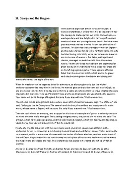 Crispin:The Cross of Lead NYS ELA Gr6 Module1  St. George & The Dragon