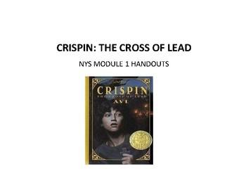 Crispin:The Cross of Lead NYS ELA Gr6 Module1  handouts