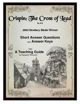 Crispin:  The Cross of Lead   Short Answer Questions