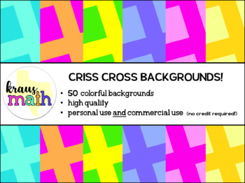 Criss Cross Backgrounds/ Digital Paper Pack! (Personal & Commercial Use)