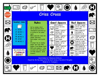 Criss Cross Board Game