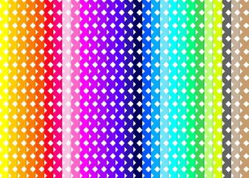 Criss Cross Digital Paper Set  - Rainbow Brights {28}