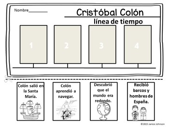 Cristóbal Colón Spanish Bundle {Christopher Columbus}