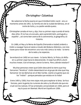 Cristobal Colon - Christopher Columbus