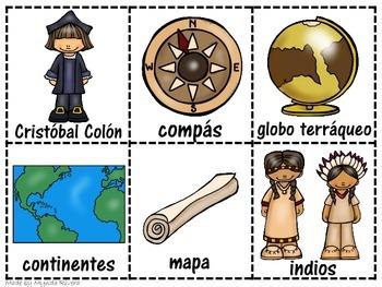 Cristobal Colon (Christopher Columbus Craftivities in Spanish)
