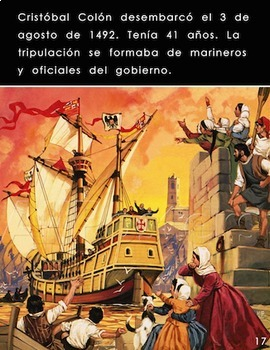 """Cristobal Colón"" — Original Spanish Book on Columbus (Spanish Lexile 530L)"