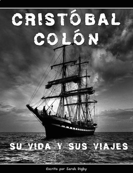"""Cristobal Colón"" — Original Spanish Book on Columbus (Spa"