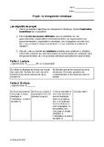 Critères du Projet: Changement Climatique/Project Criteria
