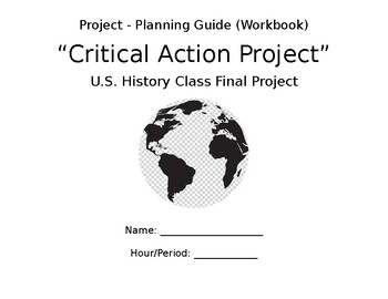 Critical Action Project Workbook - UN Sustainable Dev. Goals (Online Learning)