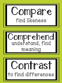 Critical Common Core Vocabulary