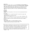 Critical Lens task and outline (Catcher in the Rye and Speak)