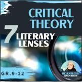 ⭐Critical Theory Literary Lens to Examine Any Literary Tex