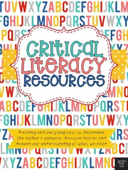 Critical Literacy Resources