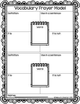 Critical Nouns & Verbs of the Common Core ~ Vocabulary Flashcards (4th Gr.)