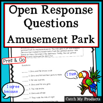 Reading Comprehension Passage : A Day at Disney (Accountable Talk)