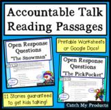 Reading Passages Bundle to Enhance Accountable Talk