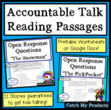 Reading Passages Bundle to Enhance Accountable Talk