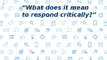 what does critical response mean