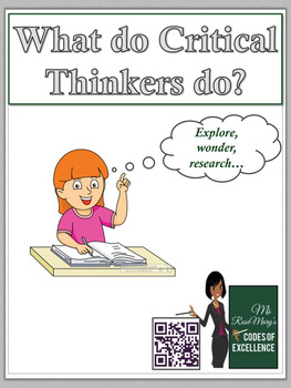 Critical Thinker Posters