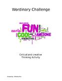 Vocabulary Word Challenge