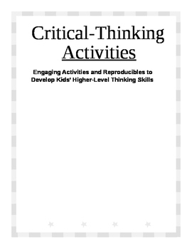 Critical-Thinking Activities