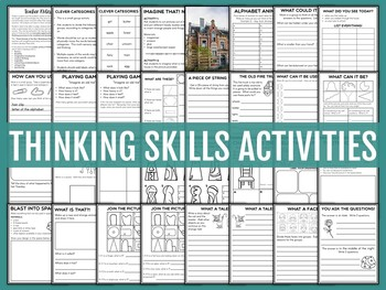 Critical Thinking Skills Activities