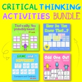 Critical Thinking Activities   BUNDLE