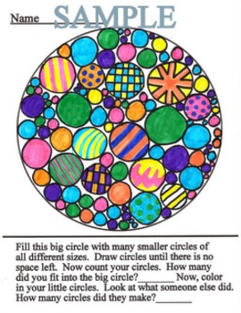 """Critical Thinking Printables - """"Circle Search"""""""