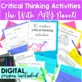 Critical Thinking Activities for Any Novel