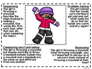 Critical Thinking Activities for Winter
