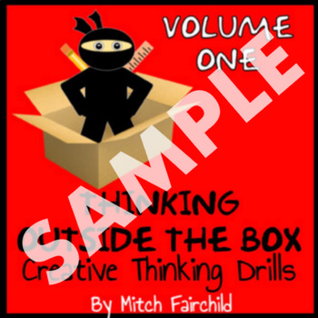 STEAM Thinking Outside The Box Drills and Emergency Sub Plans- PDF (Sample)