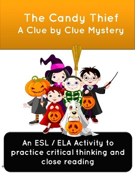 Critical Thinking Activity: The Candy Thief Halloween Mystery Game