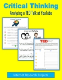 Critical Thinking - Analyzing a TED Talk at YouTube