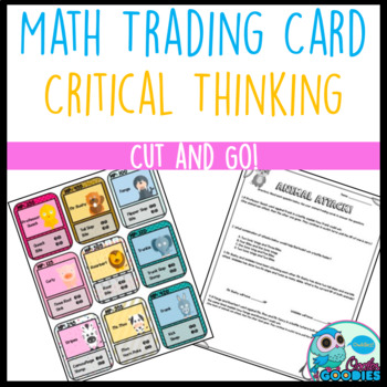 Critical Thinking - Animal Attack Math Cards