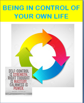 """""""Being in Control of Your Own Life""""-lesson plan, 2 activities"""