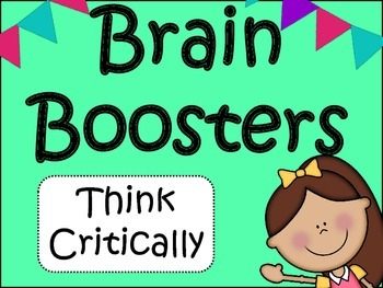 Critical Thinking: Brain Boosters