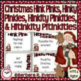 CHRISTMAS HINK PINK et al. PUZZLES Word Riddles Task Cards Vocabulary GATE