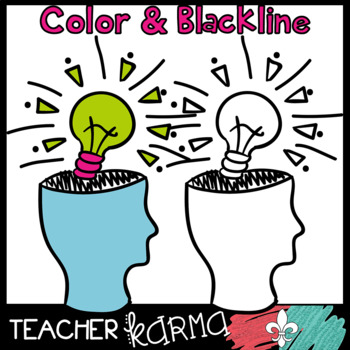 Critical Thinking & Comprehension Clipart Doodles