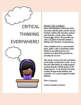 Critical Thinking Everywhere