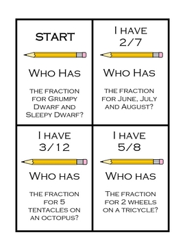 Critical Thinking Fractions