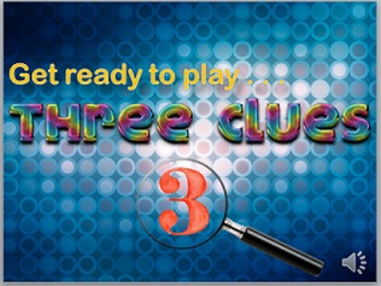Critical-Thinking Game: 3 Clues