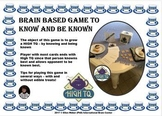 Critical Thinking Game to Know and Be Known