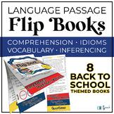 Critical Thinking & Higher-Level Language Flip Books {BACK TO SCHOOL}