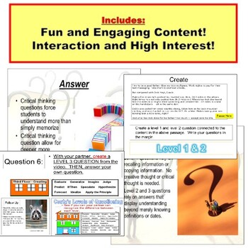 Critical Thinking: Inquiry, Questions PowerPoint