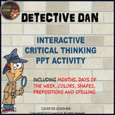 Critical Thinking - PowerPoint Game - Grade 1-2