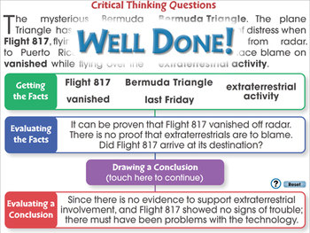 Critical Thinking: Keys to Asking Questions - NOTEBOOK Gr. 3-8