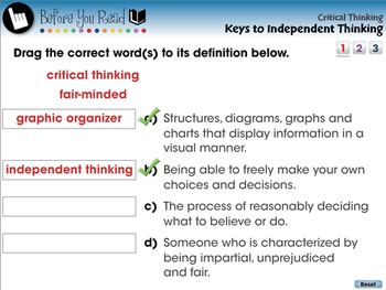 Critical Thinking: Keys to Independent Thinking - NOTEBOOK Gr. 3-8