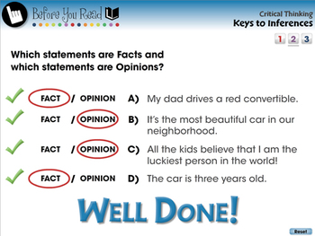 Critical Thinking: Keys to Inferences - PC Gr. 3-8