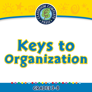 Critical Thinking: Keys to Organization - NOTEBOOK Gr. 3-8